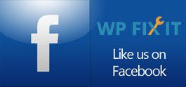 Like WP Fix It on Facebook